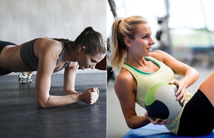 Die 5 besten Bauch-Übungen - garantiert ohne Sit-ups - jetzt auf gofeminin.de http://www.gofeminin.de/sport/bauch-uebungen-ohne-sit-ups-d60124.html