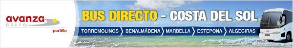 El Grupo Avanza Portillo, empresa que gestiona la flota de autobuses de la Costa del Sol, nos solicitó el diseño de Banners de cara a promocionar las líneas directas del aeropuerto de Málaga a los distintos destinos de la Costa del Sol en el portal Amadeus, uno de los portales de profesionales más reconocidos de reservas de viajes.