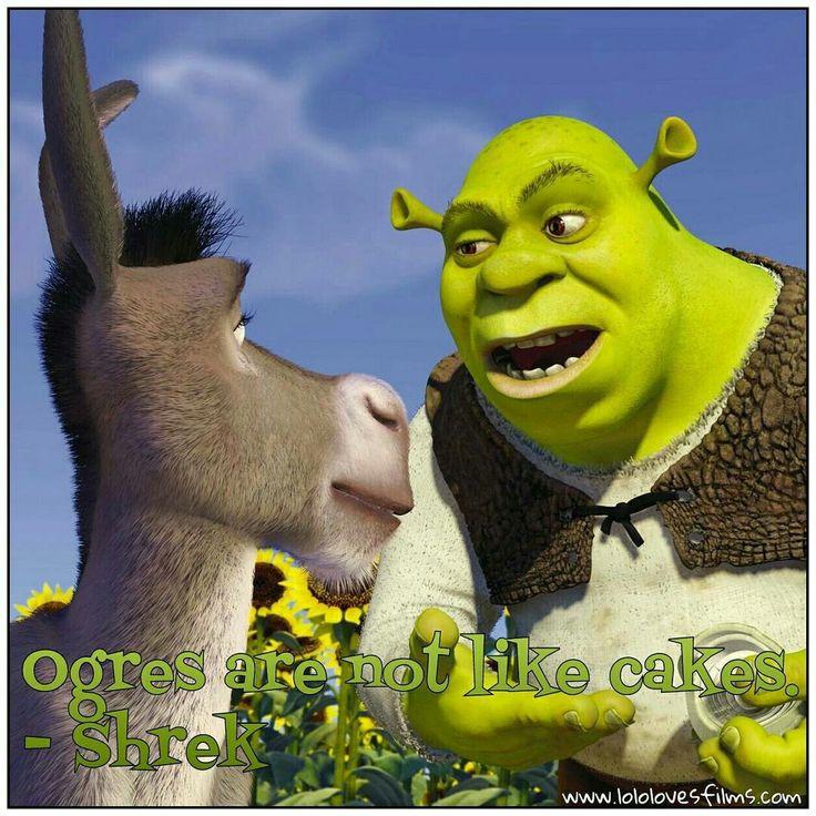 Best Shrek Quotes: 14 Best Illustrated Quotes From Shrek Images On Pinterest