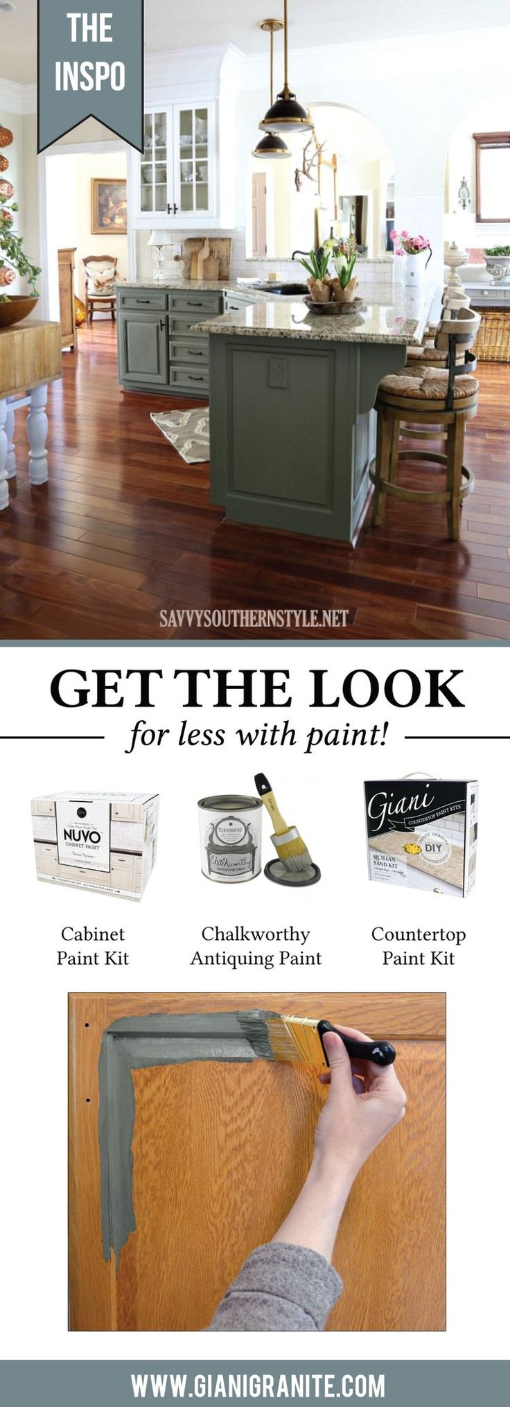 Get this stunning french country style for less with paint  Giani has all  the DIY. 18 best Get the Look for Less with Paint  images on Pinterest