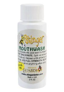 Stinger Detox Mouthwash by Stinger. $18.49. Detoxes Saliva, alcohol free, pleasant vanilla flavor. Stinger Mouthwash is intended for those individuals who do not want to risk the consequences of exposure to TOXINS. SALIVA/ ORAL DRUG TESTING will detect the most commonly used drugs including amphetamines, cocaine, marijuana, methamphetamines, opiates, and PCP. SALIVA drug tests are most commonly used to detect RECENT drug use.  SALIVA is a refined version of plasma that has t...