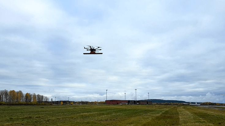 See through the surface of ground, ice or any structure with a drone equipped with Ground Penetrating Radar (GPR) - sUAS News - The Business of Drones  ||  Riga – October 17, 2017 – To bring technically advanced solutions for surveyors, land engineers, researchers, rescue service providers and sappers –
