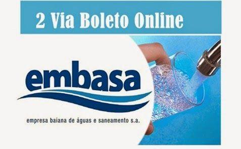 Como emitir 2 via boleto online Embasa, saiba como tirar segunda via de fatura para pagamento de água - http://www.meuscartoes.com/2014/12/2via-embasa-como-tirar-segunda-via-de-conta-agua.html