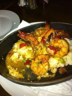 Shrimp and Grits a la John Besh  OMG