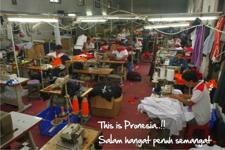 Pakaian Seragam Kerja Dari Pronesia