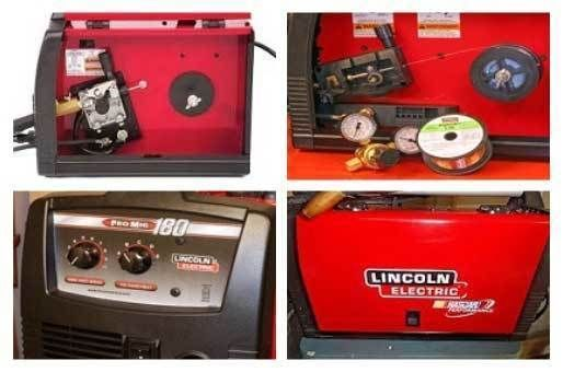 Lincoln Electric Mig Welder >> Lincoln Electric Welder 180 Lincoln 120v Welder Lincoln 180 Mig