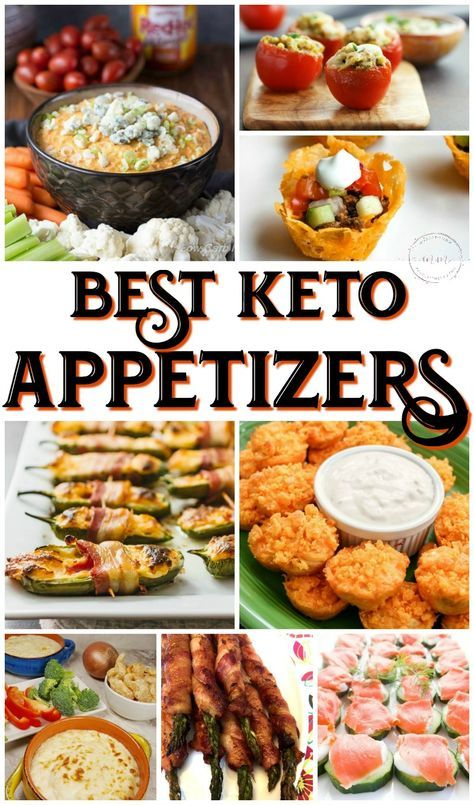 All of these delicious and simple keto appetizers will