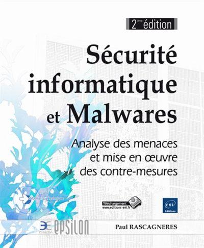 """005.8 RAS - Sécurité informatique et Malwares / Paul Rascagneres """"Ce livre décrit les techniques et la méthodologie utilisées par les professionnels de l'analyse de malwares (ou logiciels malveillants). Il s'adresse à des informaticiens passionnés de sécurité, à des professionnels dans le domaine de la sécurité informatique, qui souhaitent une approche opérationnelle et hautement technique"""""""