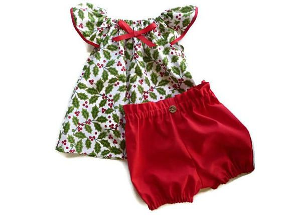 Babys first Christmas  baby Christmas outfit  toddler girl