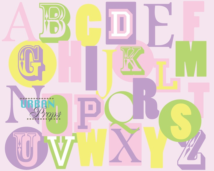 images about printable letters/ alphabet