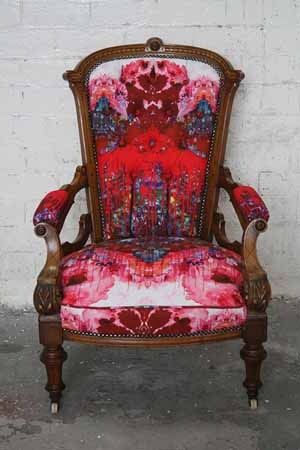 Timorous Beasties Thunder Blotch chair - coming to our London showroom very soon