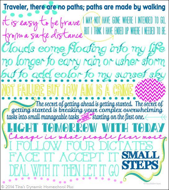 7 Step Homeschool Planner Back Cover