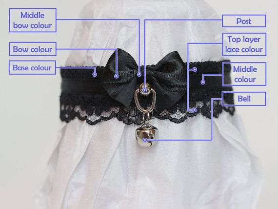 Lace Custom BUILD YOUR OWN(Tug proof) Collar/Choker