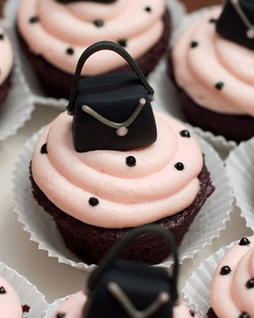 purses cupcake ideas - Google Search
