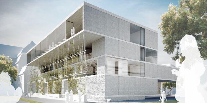 AV1 Architekten   Prüfung- und Lernzentrum Universität Frankfurt Ankauf