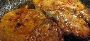 costeletas de porco à alent ~Portuguese pork chops