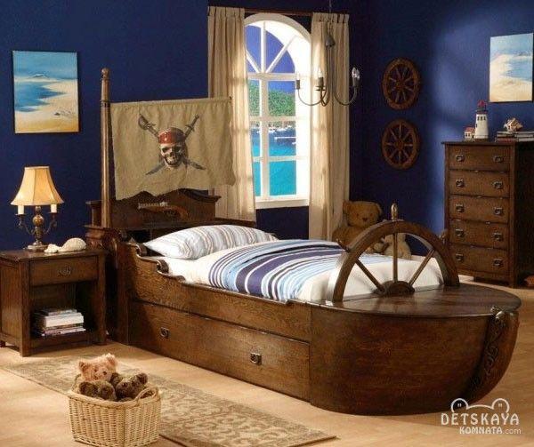 двухъярусная кровать корабль - Поиск в Google