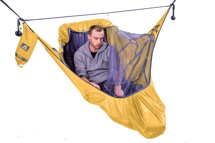 Amok Draumr 3.0 - hammock tent with bug net and suspension kit