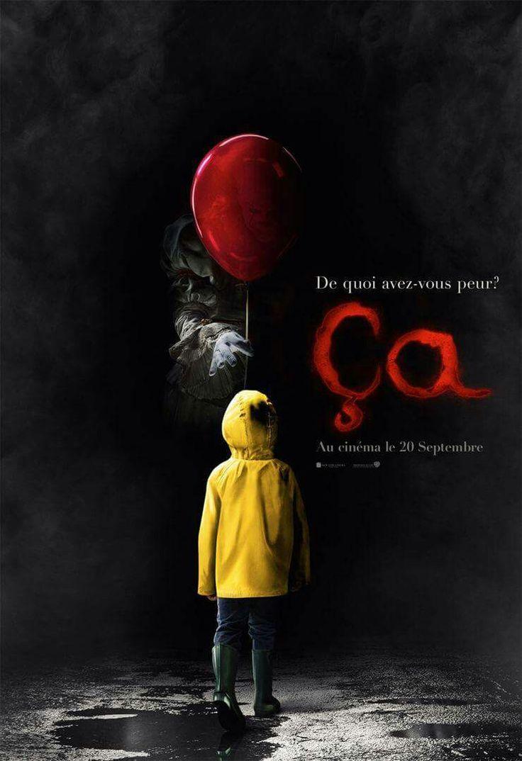 ÇA, le clown terrifiant de Stephen King débarque dans les salles aujourd'hui. Notre critique ici http://ow.ly/6EBl30fhV41