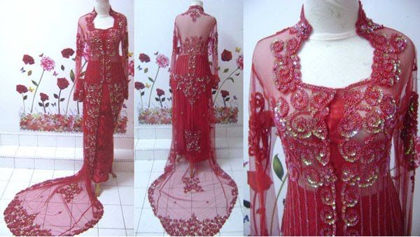 Indonesian Kebaya Wedding Dress Selections