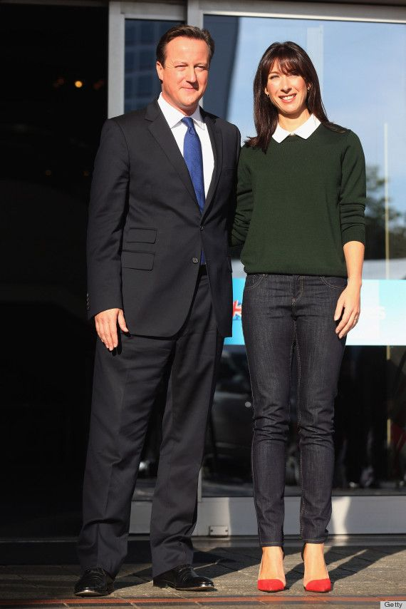 Samantha Cameron's casual look