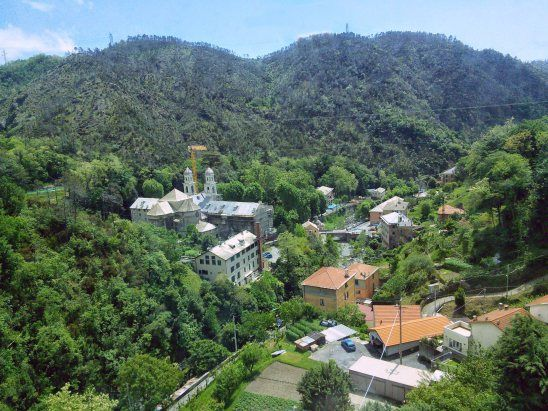 Acquasanta, il santuario e le Terme di Genova
