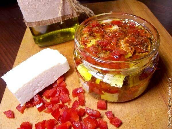 Маринованный сыр / Рецепты с фото