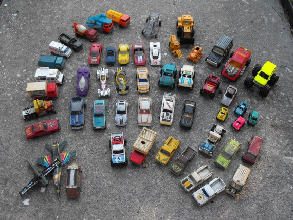 Lot of Vintage Cast Iron Cars / Collectibles by DaisyAndMomSupply