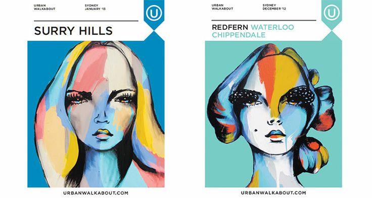 Surry Hills Redfern/Waterloo/Chippendale Anya Brock: Cover Artist - Urban Walkabout sydney blog