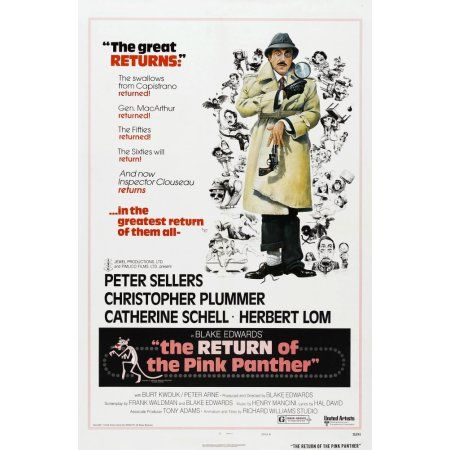 The Return Of The Pink Panther U Canvas Art - (11 x 17)