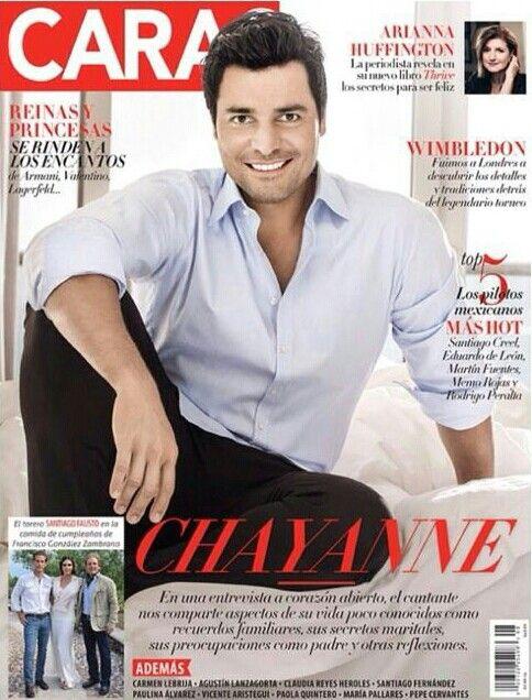 Chayanne, revista Caras México en la portada del mes de agosto!