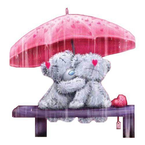 Amor es, compartir el mismo paraguas