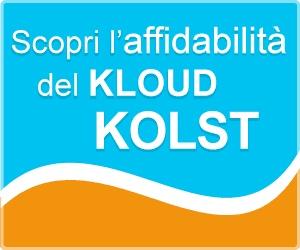 Kolst codice sconto del 25% su l'attivazione del servizio Kloud