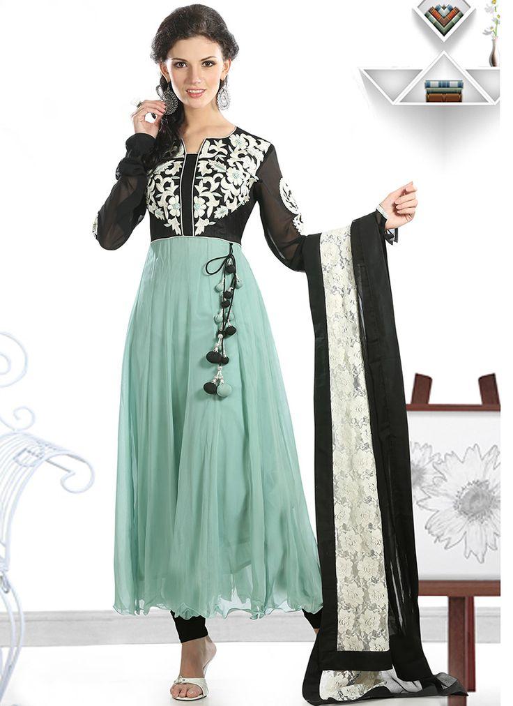 $168 Cbazaar. Love mint with black!  **From cBazaar Online Store  From http://foudak.com/cbazaar/