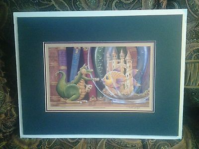 Randel-Spangler-signed-and-numbered-print-Dagmar-dragon-art