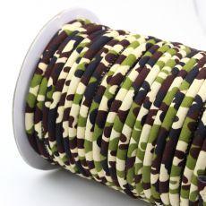 Sznurek bawełniany MASAJKA moro 6,5mm [0,5metra]