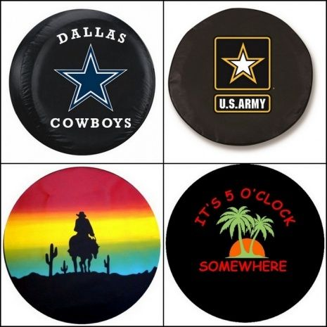 Rv Spare Tire Covers