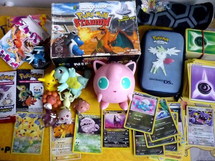 Retour de Brocante n°4 : Jeux Pokemon, Figurines, Goodies...