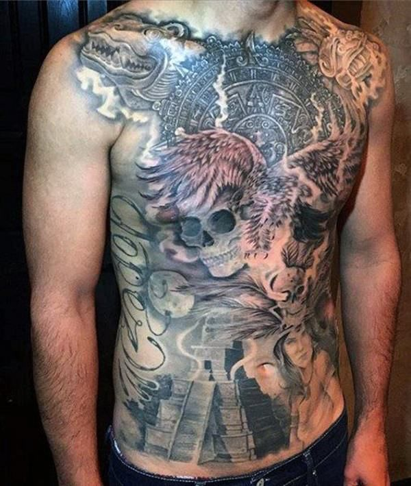 125 Best Aztec Tattoo Designs for Men - Wild Tattoo Art