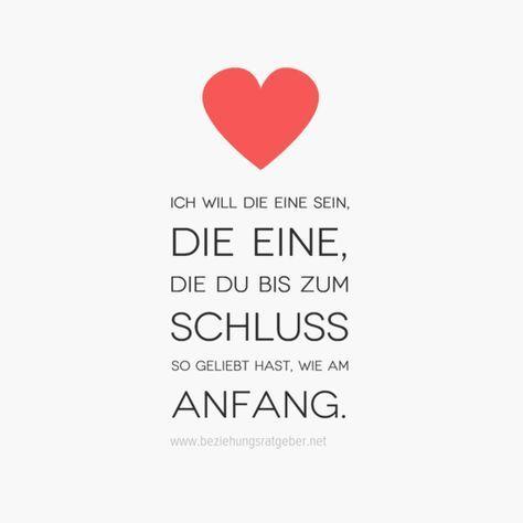 …Ich will die eine sein die eine die du bis zum Schluss so geliebt hast wie am Anfang!!!❤❤❗ – Andrea Pohl