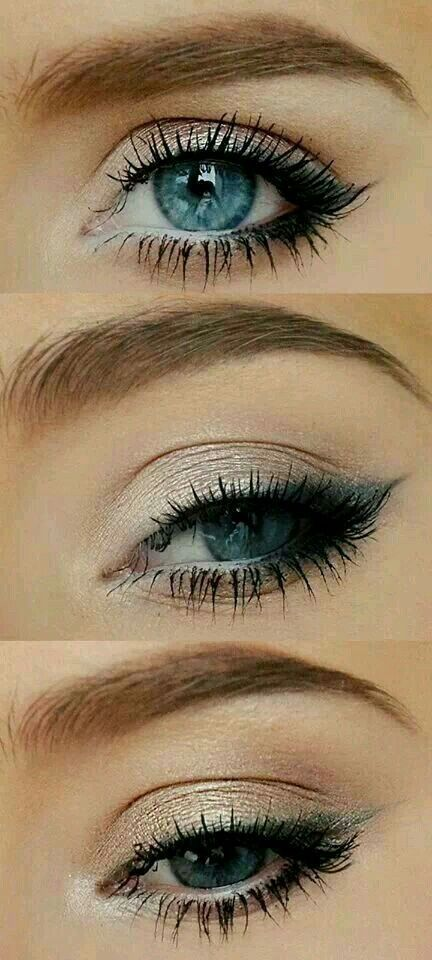 Olho Silver Eye Makeup Red Hair Blue Eyes Makeup Turquoise Eye