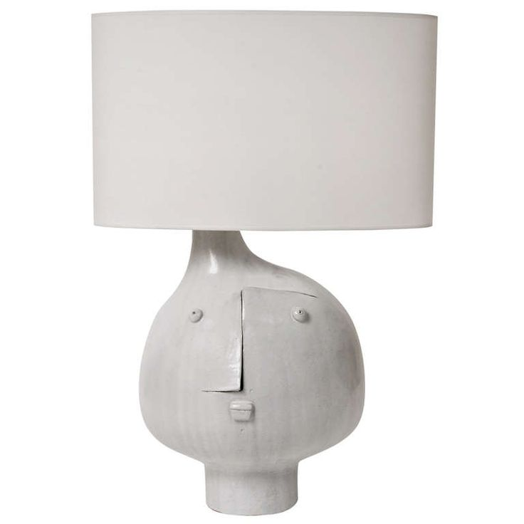 Important Ceramic Table Lamp By DaLo