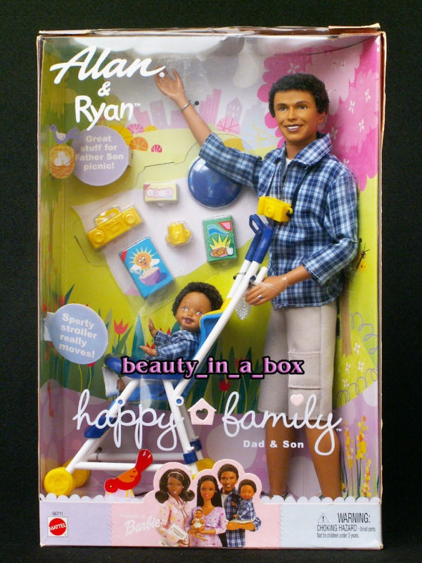 Barbie Happy Family - African American Alan & Ryan
