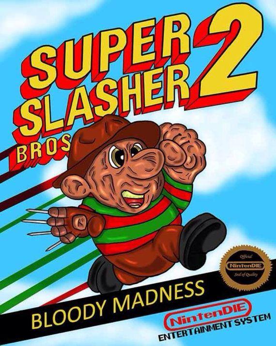Super Mario Bros 2 / Freddy Krueger parody  by CryptRottedBones, $10.00