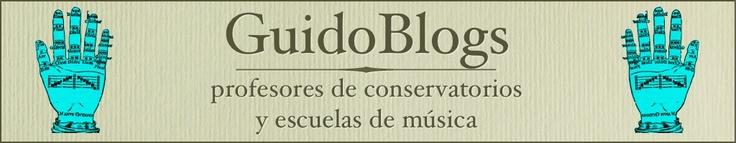 GuidoBlogs.   Planeta de Blogs que se ocupa exclusivamente de los blogs de Profesores de Conservatorios y Escuelas de Música.