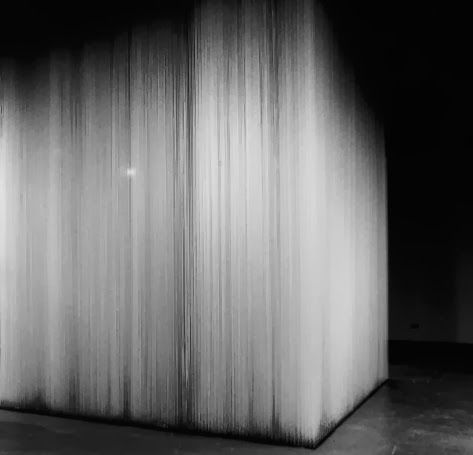 Hong Sungchul   White Cube, 2000, cotton string