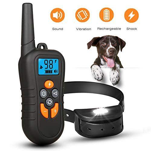 Yida Tech Dog Shock Collar With Remote Dog Training Collar