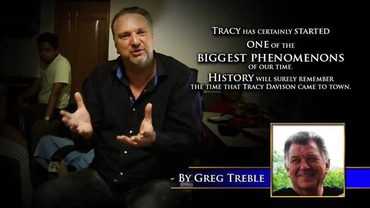 Tracy has certainly started one of the biggest phenomenons of our time. History will surely remember the time that Tracy Davison came to town. -Greg Treble #60SecondMillionaireTV #RevMediaUSA #MediaTeam @tracy_davison #tracy_davison #TracyDavison