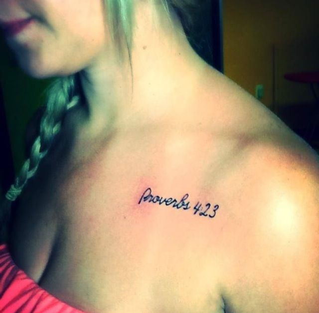 proverbs 4 23 tattoo tattoos piercings pinterest