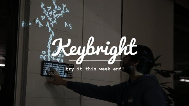 Build your own magical light installation in just a few clicks. Try it now at www.keybright.net ;) Full details for setup at home: http://www.instructables.com/id/Magic-Keyboard-Light-Installation/ Full story behind the keybright concept: http://keybright.net/story.html ----- In November 2012, I created a simple installation called Magic Keyboard (https://vimeo.com/45154003). At the time, the project was only running on my laptop and wasn't ready to be opened on any device. It was part ...